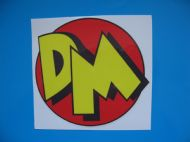 DANGER MOUSE Retro Funny Ratlook hoodride car sticker Bombing Decal JDM VW etc x 1